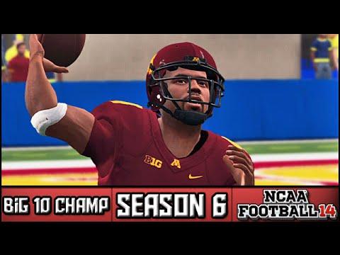 NCAA Football 14 Dynasty: Big 10 Championship vs #8 Michigan [Season 6]