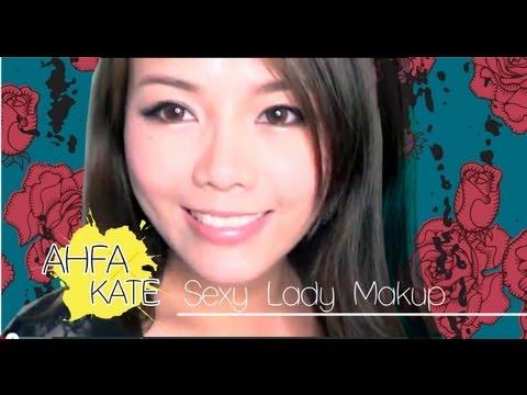 閃閃金啡魅惑性感妝容示範 ✿ Sexy Lady Makeup