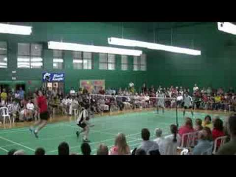 Badminton Shots Tricks Badminton 59 Shot Doubles