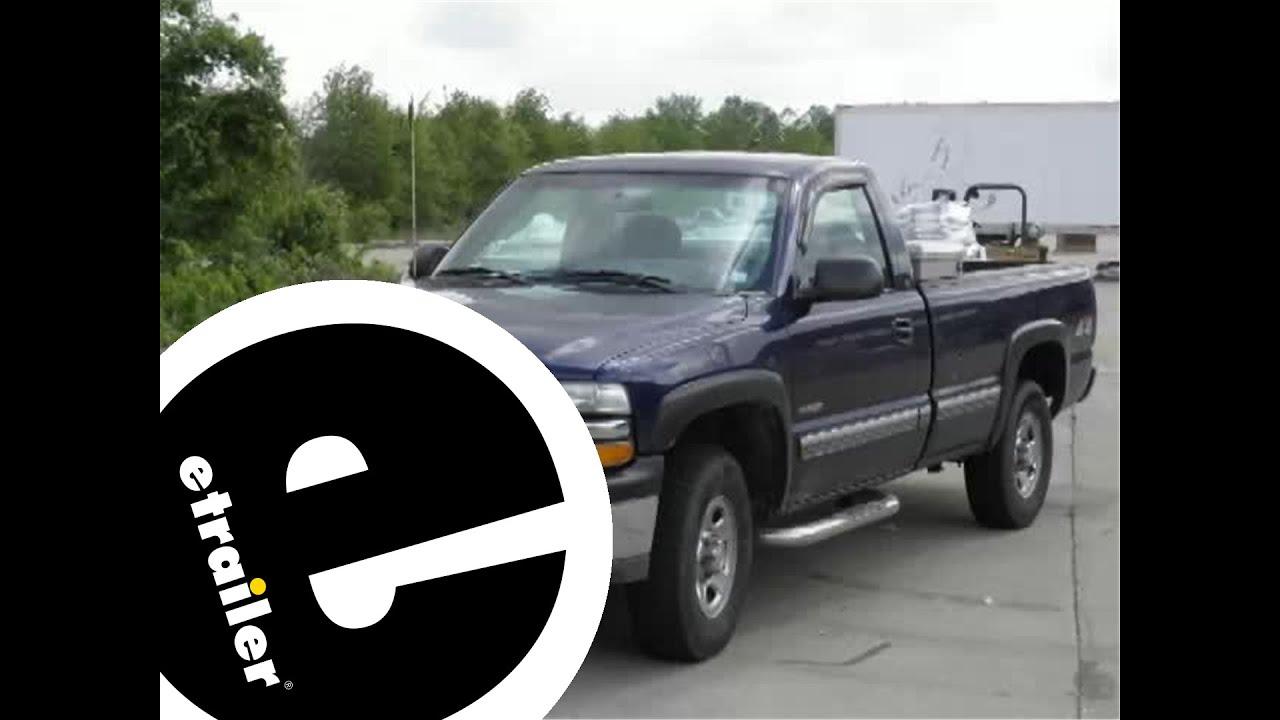 Trailer Hitch Installation - 2001 Chevrolet Silverado 1500 ...