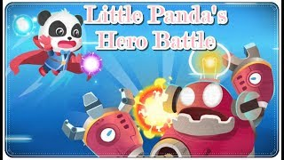 Little Panda's Hero Battle Game   Android & iOS   Cartoon Gameplay For Kids