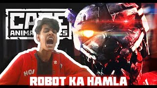 BHOOT WALE ROBOT TEDDY KE SATH FIGHT #1| FUNNY ANDROID HINDI GAMEPLAY | Case Animatronics | Finestly
