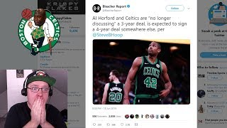 Al Horford Leaving The Boston Celtics! Which NBA Team Should Sign Him?