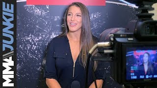 UFC on ESPN+ 10: Felicia Spencer full media day interview