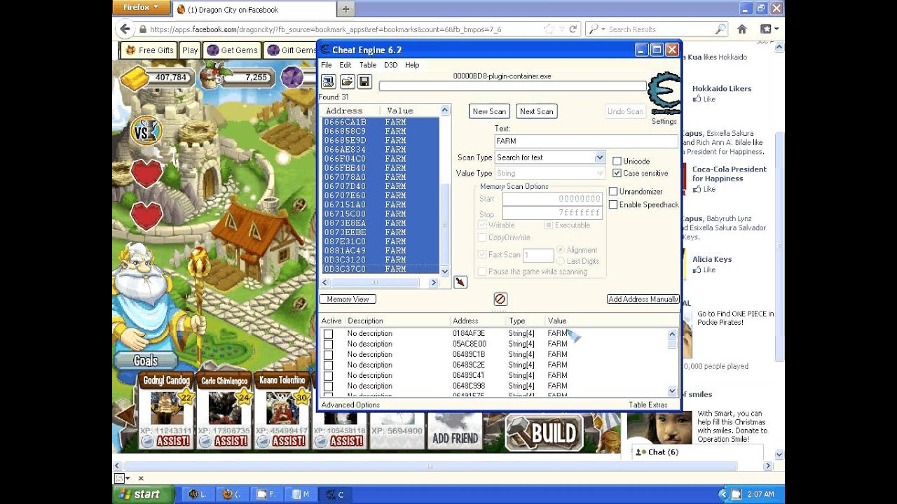 HOW TO USE CHEAT ENGINE 6 2 IN DRAGON CITY - YouTube