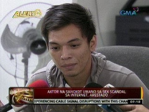 24 Oras: Aktor Na Sangkot Umano Sa Sex Scandal Sa Internet, Arestado video