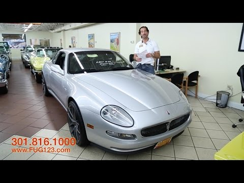 2004 Maserati Cambiocorsa Coupe for sale with test drive. driving sounds. and walk through video