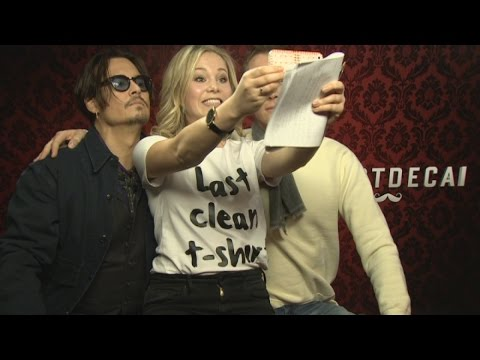 Funny Johnny Depp interview: Johnny Depp and Paul Bettany talk recent adventures