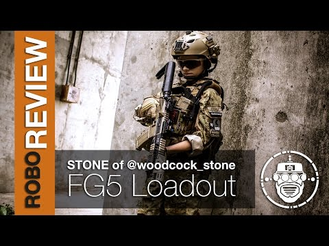 Robo-Airsoft: Robo Gear Review - Faded Giant 5 - Stone of woodcock_stone Loadout