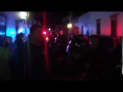 Huandacareo se levanta contra Comandante de seguridad
