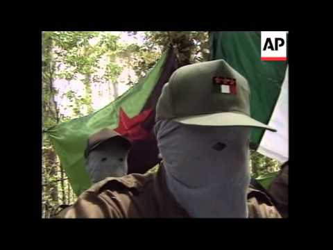 MEXICO: REBEL GROUP VOW TO CONTINUE WAR AGAINST SECURITY FORCES