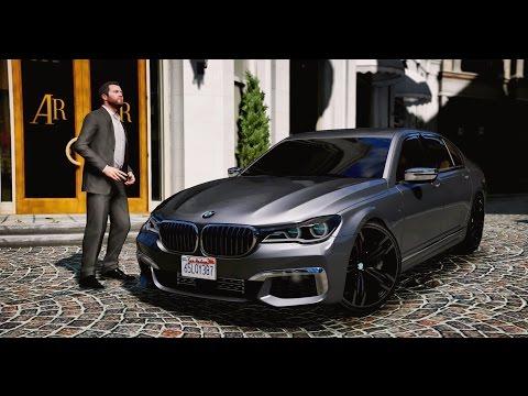 ► GTA 5 BMW M760Li (G11)  - 2017 ✪ REDUX - 60 FPS 1080p GTA V