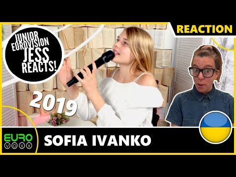 UKRAINE JUNIOR EUROVISION 2019 REACTION: Sofia Ivanko - Koli Zdayetsya | JESS REACTS!