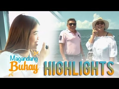Magandang Buhay: Momshie Melai tries to be a ferry announcer
