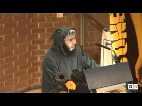 Emotional Recitation By An Ex Guantanamo Prisoner. video