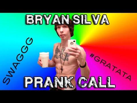 Prank Calling Bryan Silva..gratata video