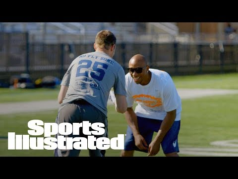 How Hard Is It To Catch A Pass Against Chris Harris Jr.? | MMQB With Peter King | Sports Illustrated