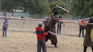 The school of the Cossack sabres. Ukrainian Cossack. Beginner level.