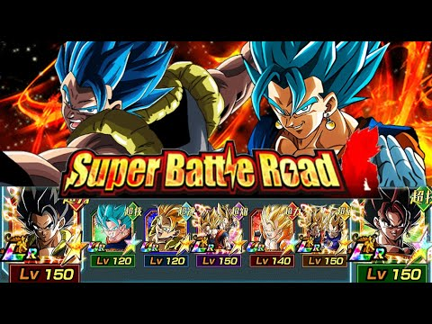 Last Resort Team DESTROYS Super Battle Road! Dragon Ball Z Dokkan Battle