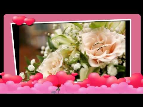 Открытки на свадьбу  видео 44