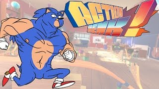 "Action Henk! -- ""Sanic the Henk-hog"" (vs Basically 