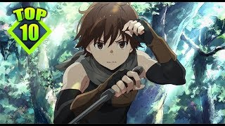 Top 10 Mejores Animes Fantasia/Accion [Animes Cortos]