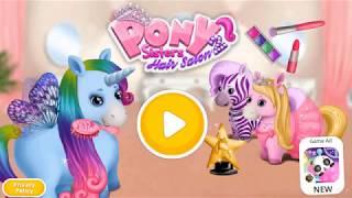 Trò chơi vui nhộn Pony Chăm sóc trẻ em Trò chơi học màu sắc