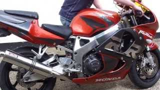 1998 CBR 900RRW Fireblade SOLD on Ebay, item number 230987850121