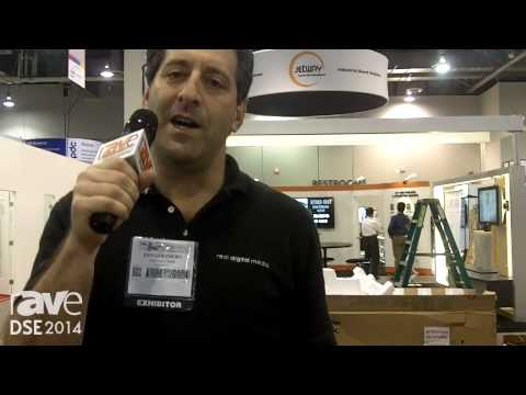 DSE 2014: Real Digital Media Talks All-in-One Arm-Based Displays, NFC Tag Integration