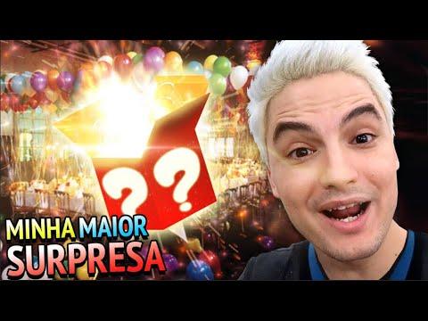 RECEBI A MAIOR SURPRESA DE ANIVERSÁRIO DA VIDA! VEM VER! thumbnail