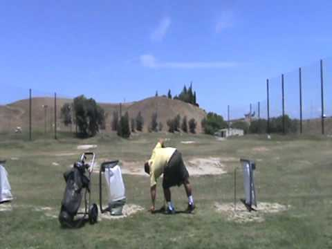 Left handed golf swing-Polar Bear Swing(part 1)