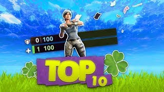 DE TOP 10 GROOTSTE GELUKSVOGELS IN FORTNITE!! - Fortnite Battle Royale Top 10 (Nederlands)