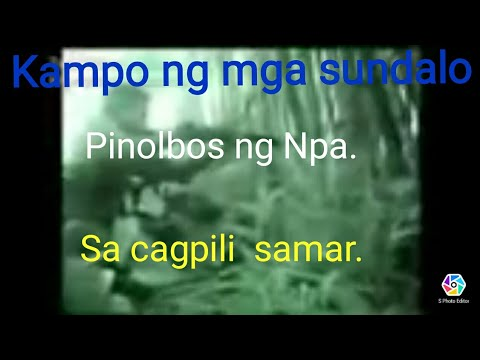 philipine army vs NPA in Cagpili
