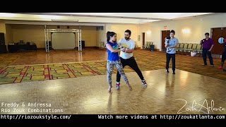 "Freddy Marinho and Andressa Marinho - ""Rio Zouk Combinations"" - Zouk Demo #1 - I"