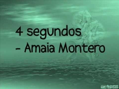 Amaia Montero - 4 Segundos