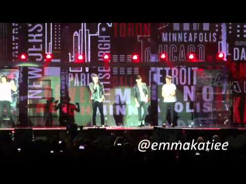 One Direction - What Makes You Beautiful - Manchester