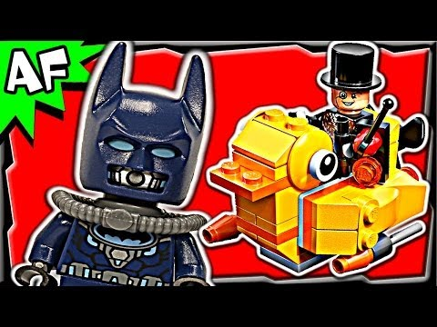 Batman PENGUIN FACE OFF 76010 Lego DC Super Heroes Animated Building Review
