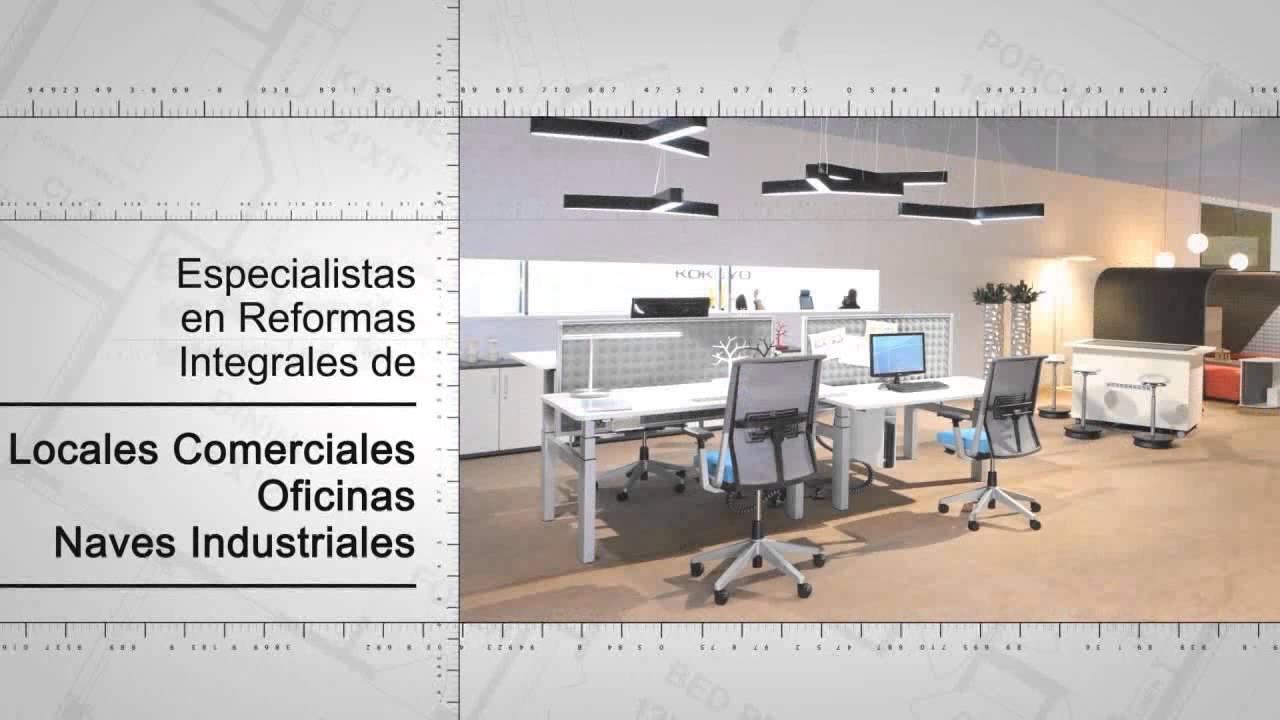 Dise o de interiores oficinas locales naves industriales decoraci n distrito centro usera barrio - Naves industriales de diseno ...