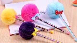 DIY MATERIAL ESCOLAR |  DIY SCHOOL SUPPLIES  - ESTOJO, LÁPIS E CLIPS