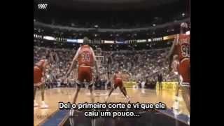Allen Iverson driblando Michael Jordan na NBA