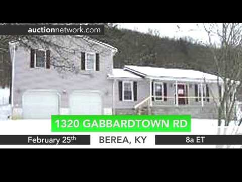 Real Estate Auction Berea, KY