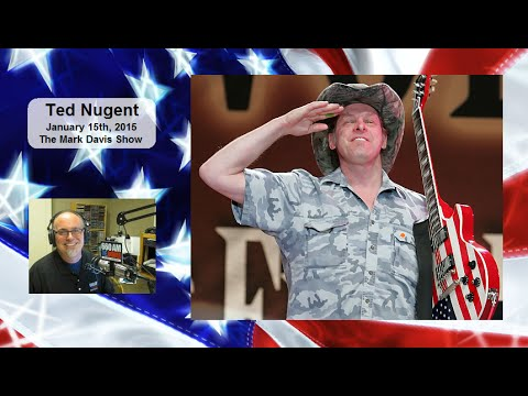 • Ted Nugent • Muslim Silence Against Terrorism Equals Guilt • Mark Davis Show •1/15/15 •