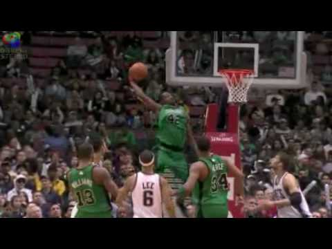 The Best NBA Dunks Jan. 2010 (part 1) Video