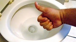 How To REMOVE Hard Water Stains From Your Toilet Bowl