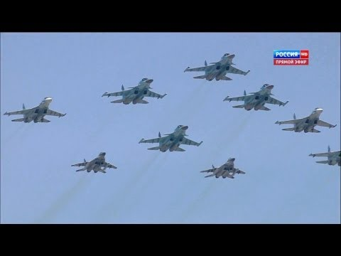 Russia TV - Russia Victory Day Parade 2013 : Full Air Force Segment [1080p]