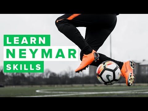 TOP 5 Neymar football skills pt. 2 | Learn to dribble like Neymar