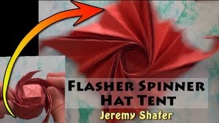 Easy Flasher Spinner Hat Tent Tutorial