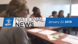 APTN National News January 22, 2019 – Canada apologizes to Inuit, Young adults come together