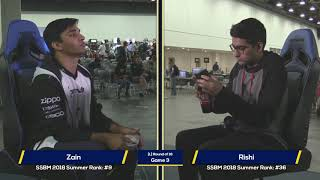 Zain vs Rishi - The Big House 8 - Melee Losers Round of 16