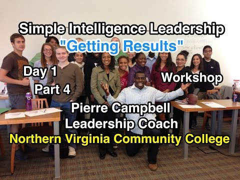 Getting Results: Simple Intelligence Leadership: Northern Virginia Community College (Part 4)